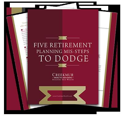 Five Retirement Planing Mis-steps